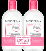 CREALINE TS H2O Solution micellaire sans parfum nettoyante apaisante 2Fl/500ml à BAR-SUR-AUBE
