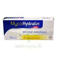 MYCOHYDRALIN 500 mg, comprimé vaginal à BAR-SUR-AUBE