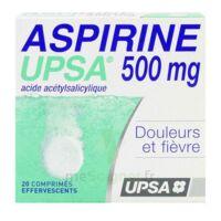 ASPIRINE UPSA 500 mg, comprimé effervescent à BAR-SUR-AUBE