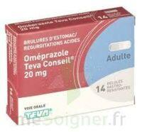 OMEPRAZOLE TEVA CONSEIL 20 mg Gél gastro-rés Plq/14 à BAR-SUR-AUBE
